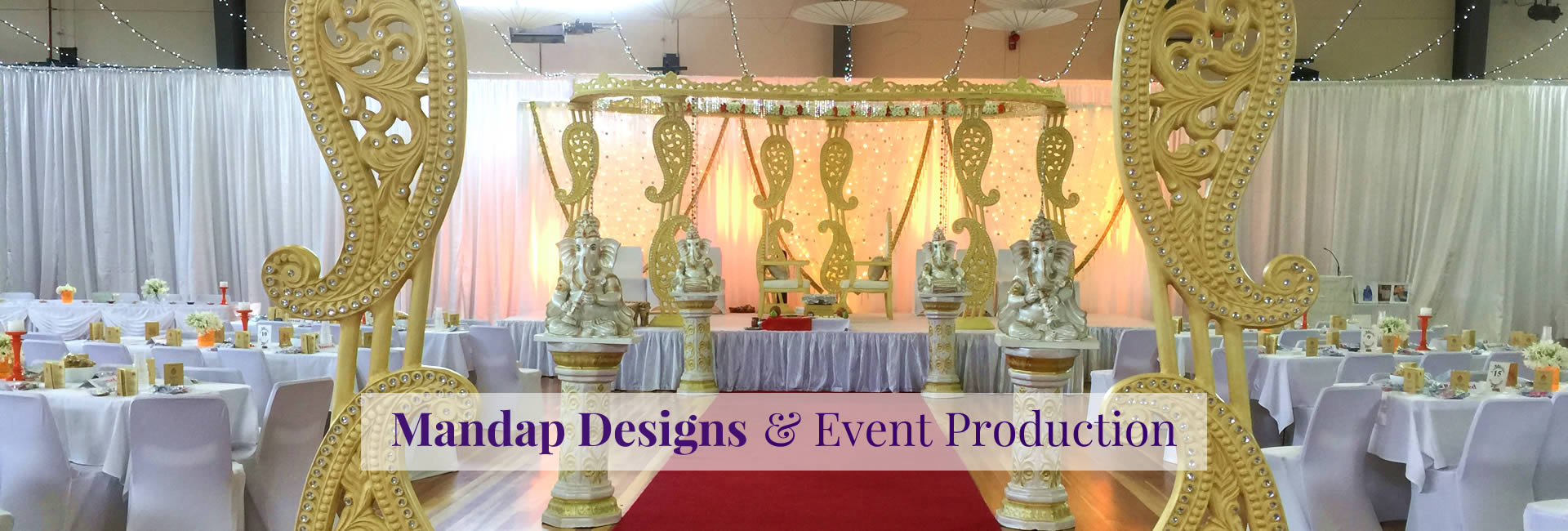 Wedding decorations stages mandaps ganesh chair covers for hire junglespirit Gallery